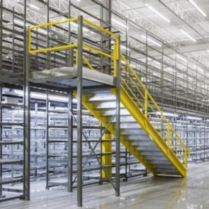 mezzanines with stairs ISDA Storage