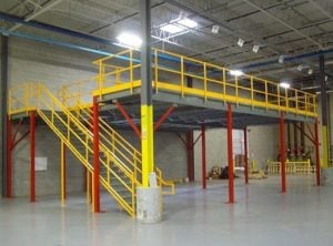 mezzanines free standing ISDA Storage