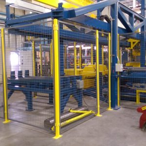 robotic guarding ISDA Storage