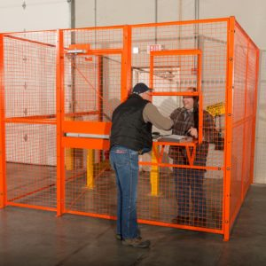driver cage for warehouses ISDA Storage