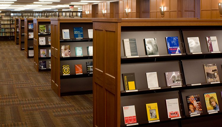 Cantilever library Shelving | ISDA
