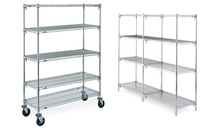 Chrome Shelving Units | ISDA