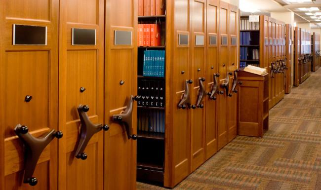 High Density Shelving law office image