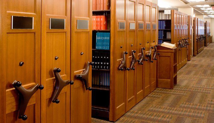 High Density Shelving law office image