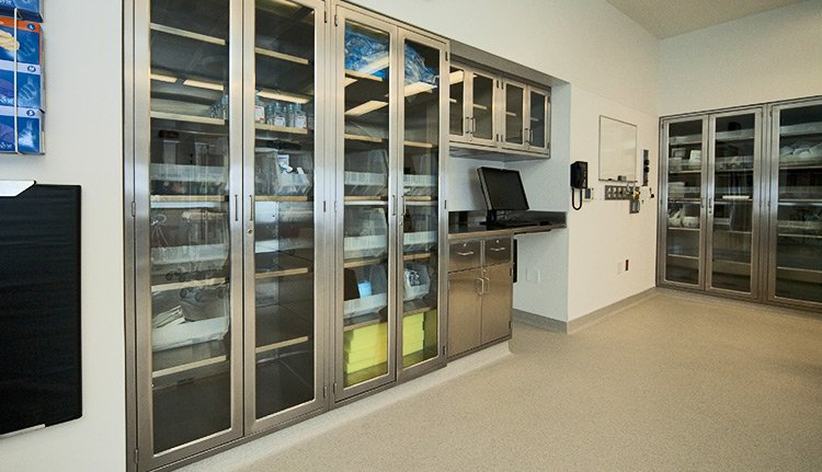 Stainless Steel Cabinets lab casework image