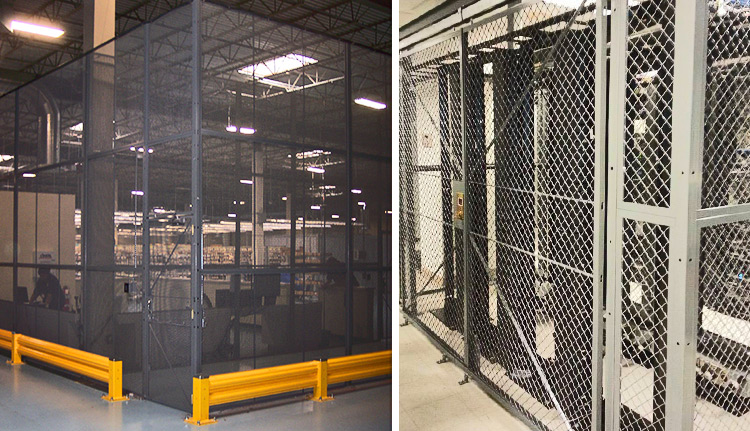 Wire Mesh Partitions | ISDA
