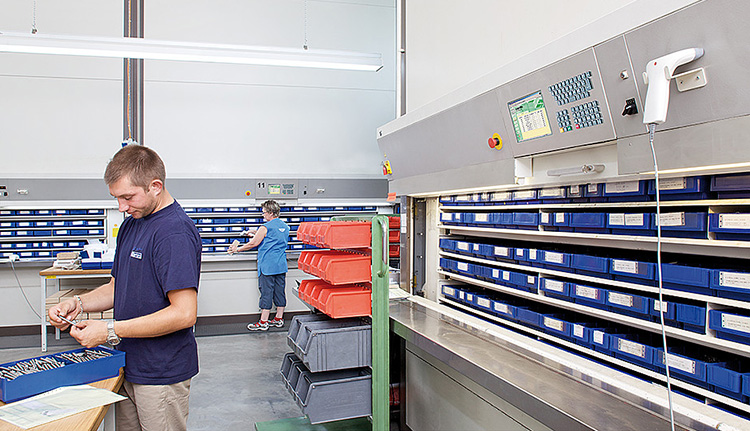 warehouse large Vertical Carousels   ISDA