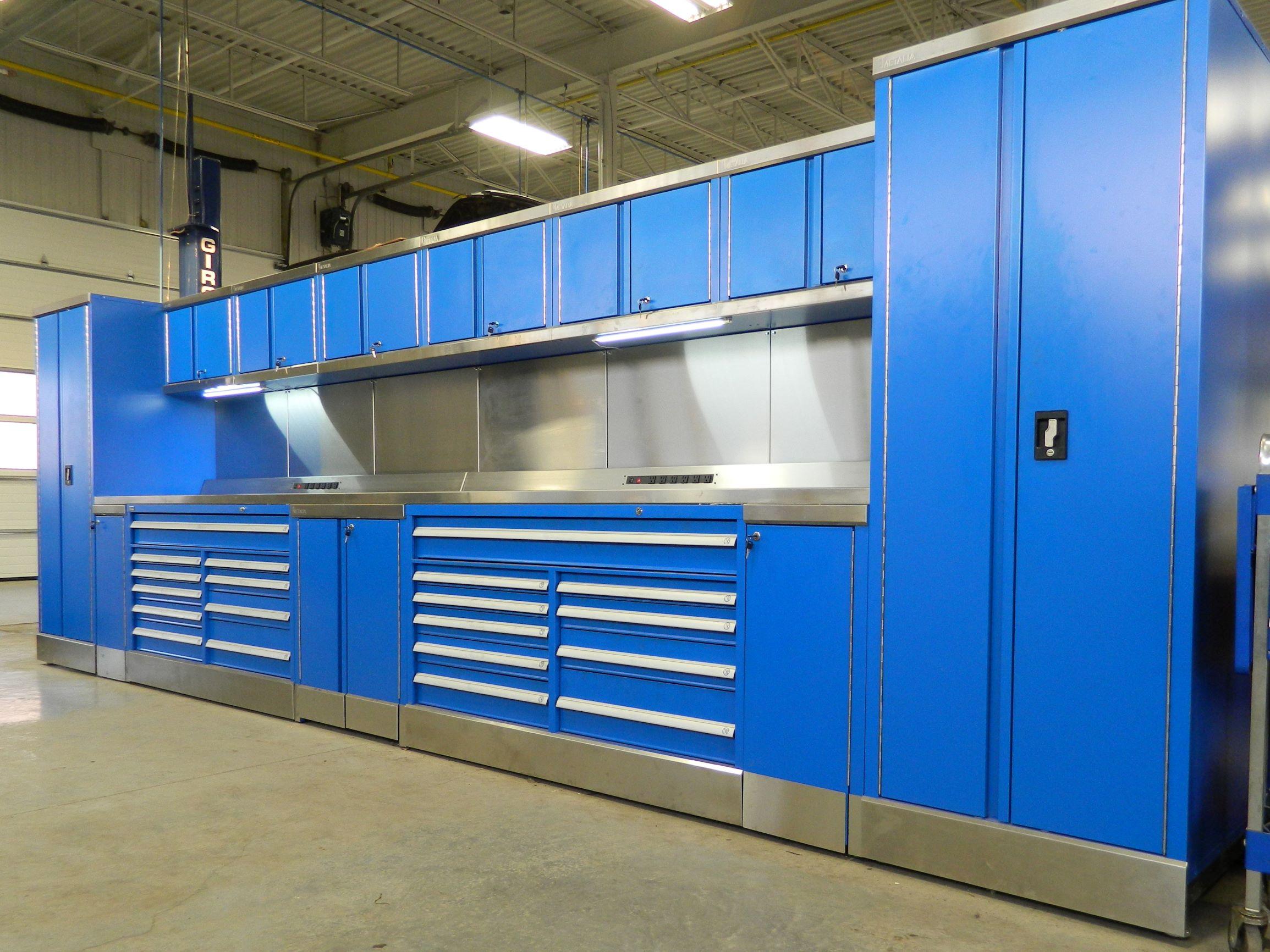 auto workspace station ISDA Storage