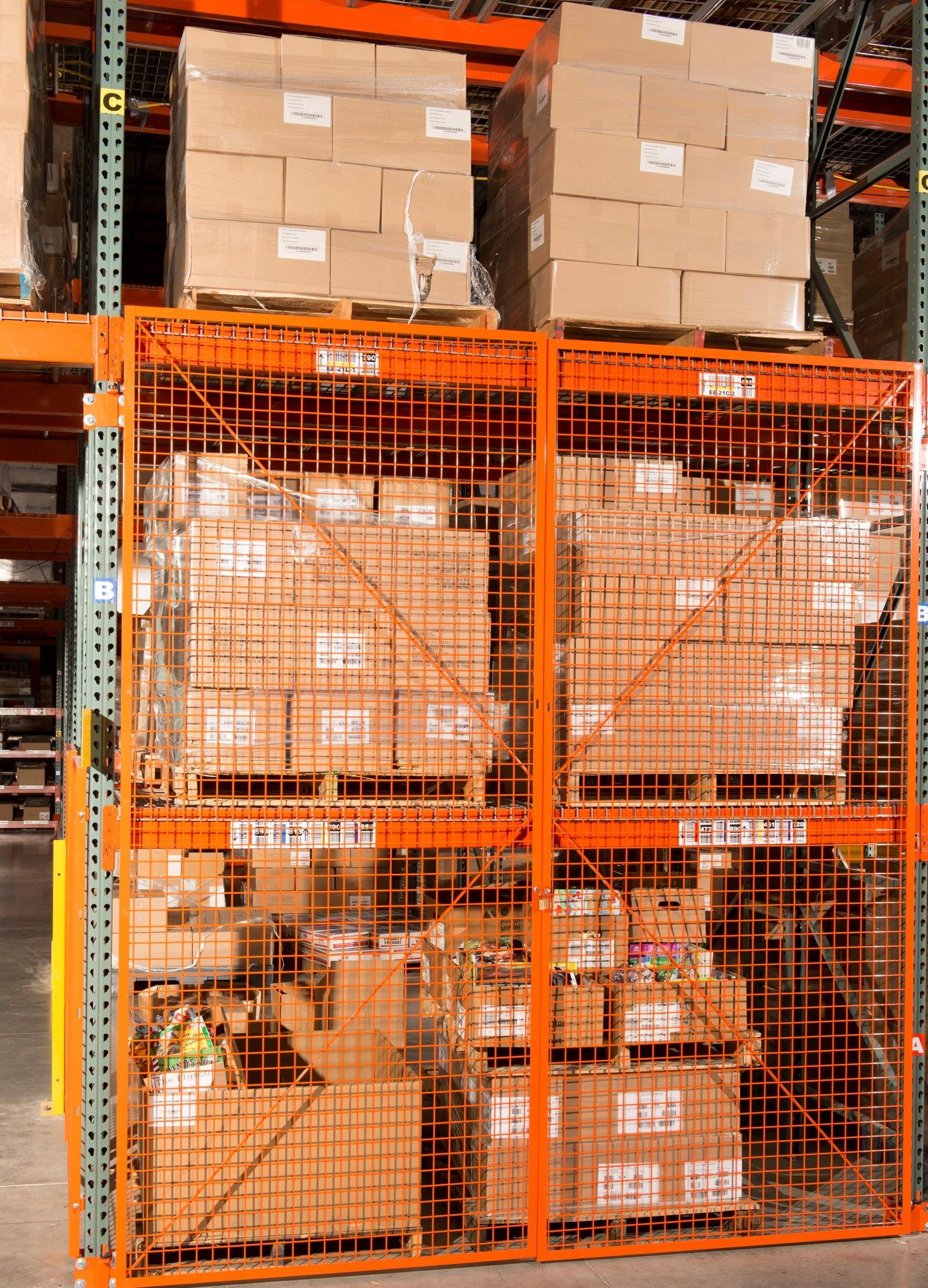 pallet rack cages ISDA Storage