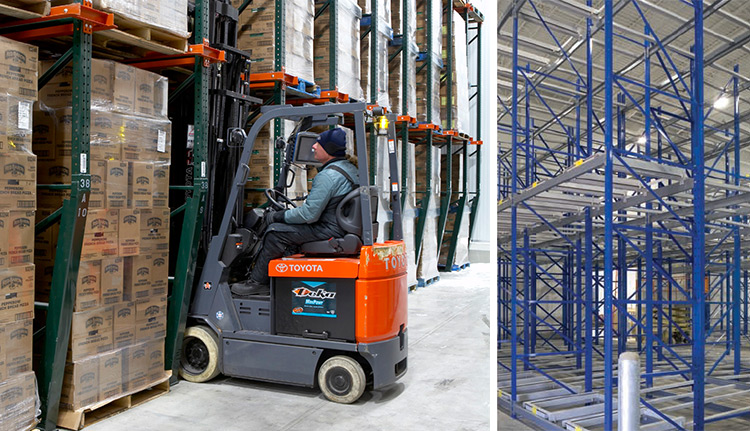 Push Back Racking Systems | ISDA