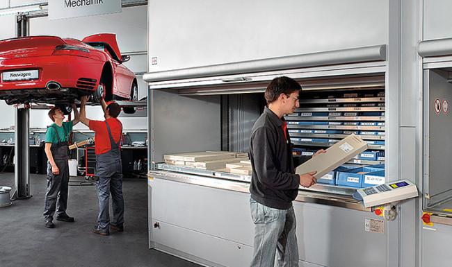 Automotive Vertical Lift Modules | ISDA