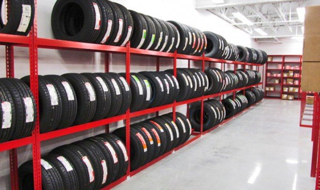 Automotive Tire Storage Racks | ISDA