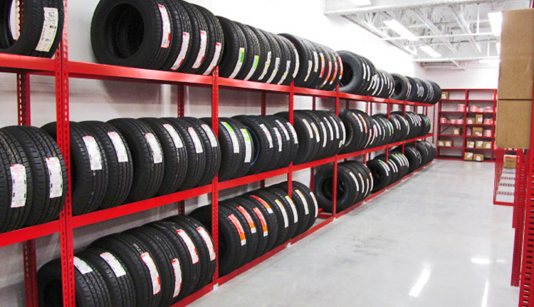 Automotive Tire Storage Racks | ISDA