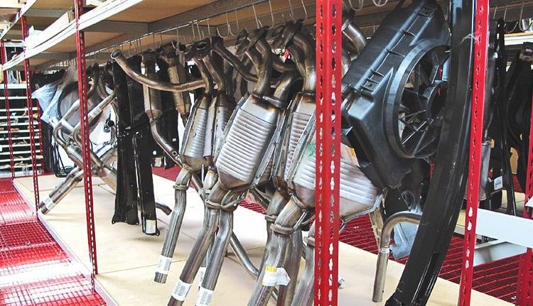 Heavy duty Automotive Storage Racks | ISDA