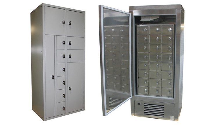 Police Law enforcement Evidence Lockers | ISDA