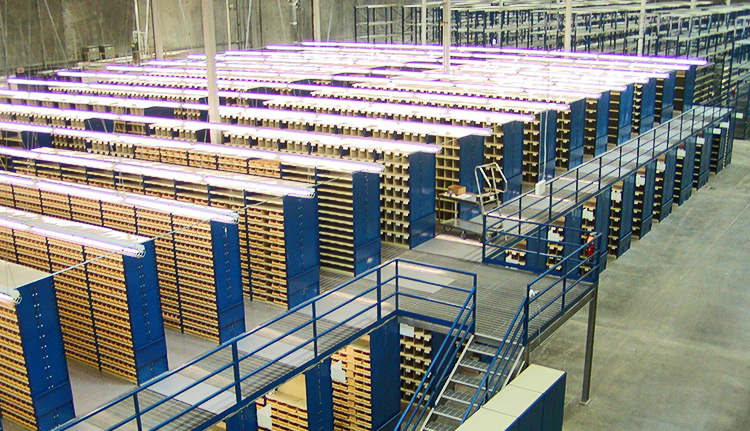 Industrial Warehouse Shelving Units | ISDA