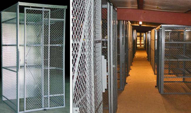 Military Law Enforcement Storage Lockers