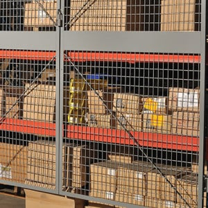 Pallet Rack Enclosures | ISDA