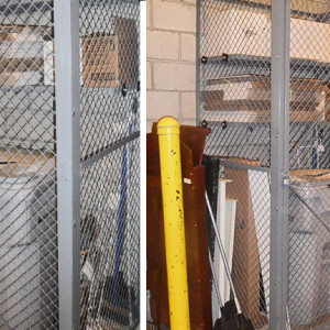 Wire Mesh Lockers | ISDA