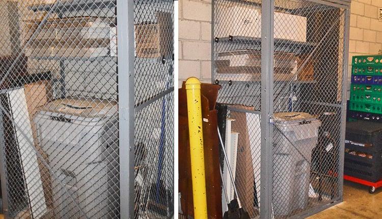 Wire Mesh Lockers   ISDA