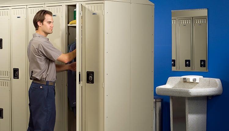 Employee Storage Lockers   ISDA