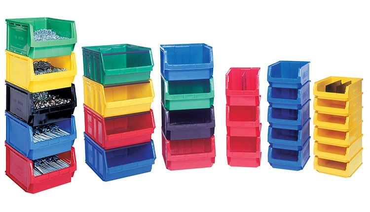 Stackable Storage Bins | ISDA