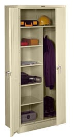 storage cabinets tennsco deluxe