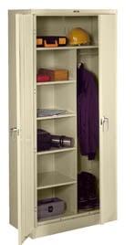 storage cabinets tennsco deluxe