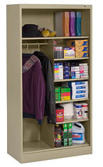 open style office cabinet tennsco