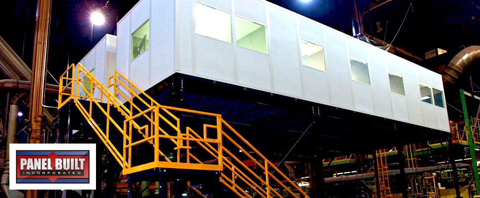Panel Built Modular Buildings and Mezzanines
