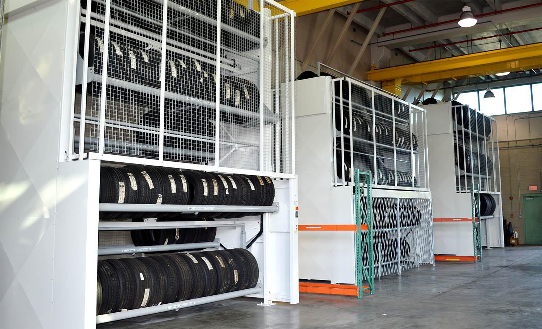 high density vertical carousel storage image