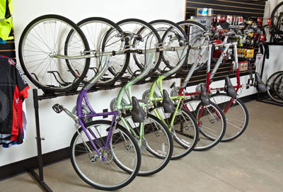 cycle storage solutions stand up rack