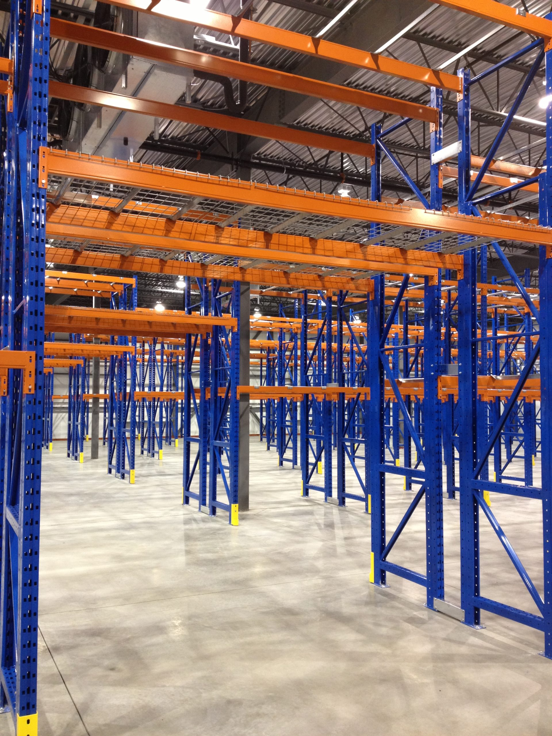 pre built rack shelving ISDA Storage